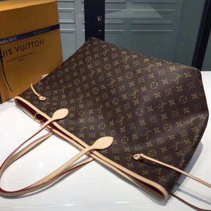 LV NEVERFULL  Bag Red wallets